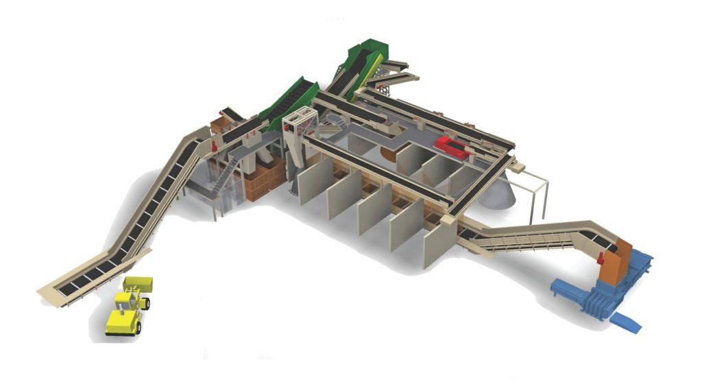 Les MRF ou centres de tri clés en main